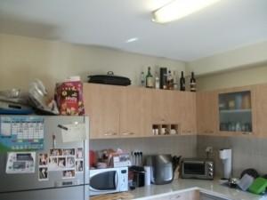 המטבח לפני