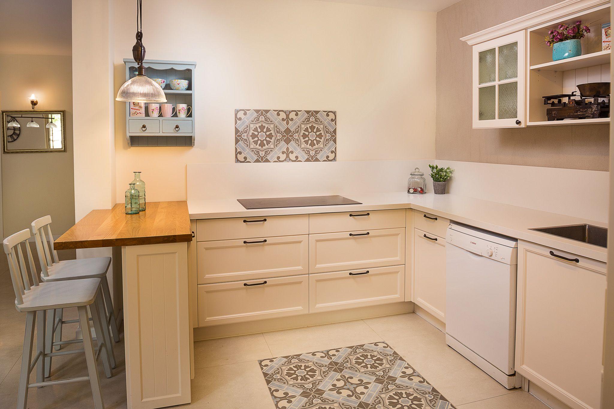 עיצוב מטבח ללא חלון